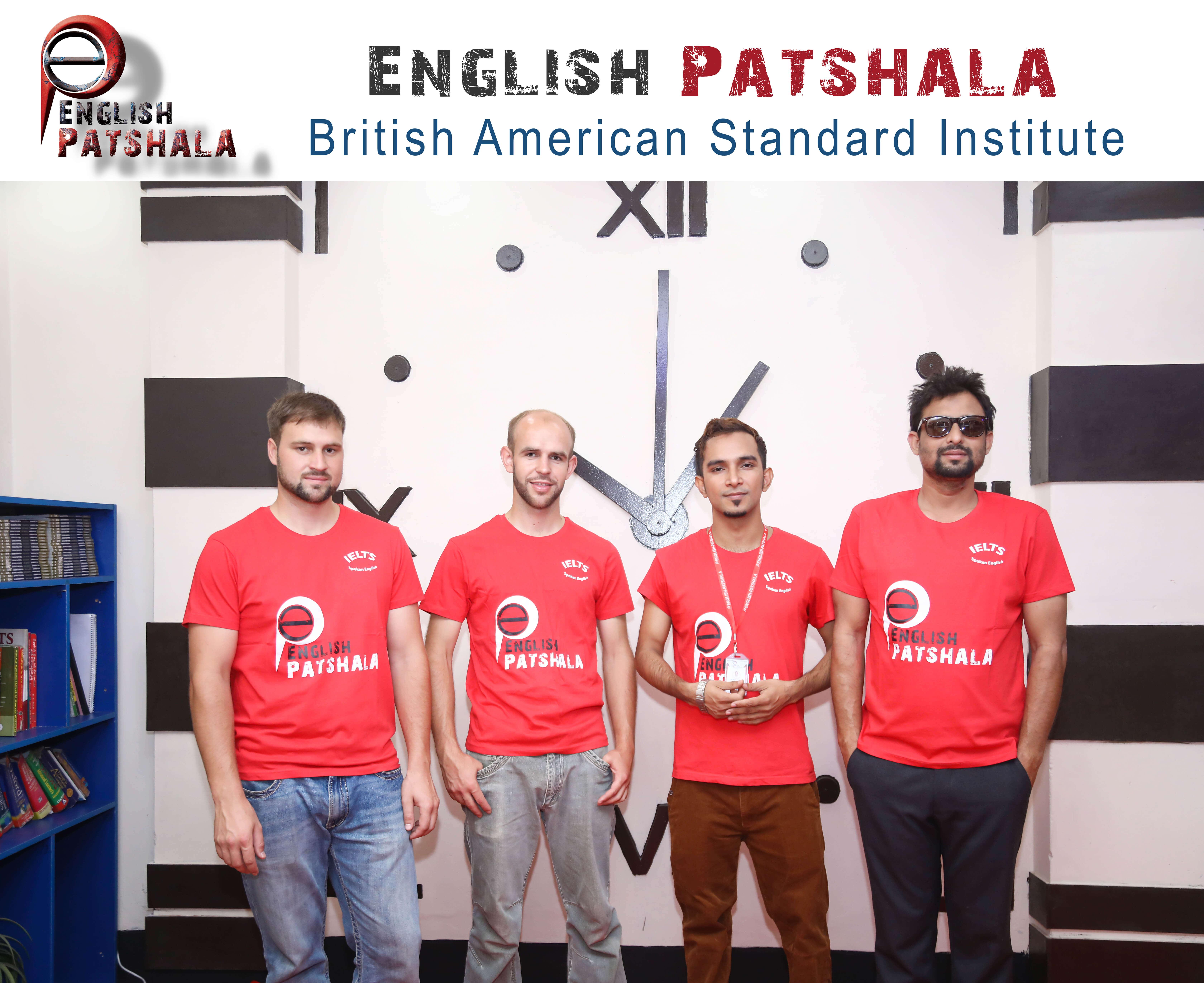 american english teacher at english patshala